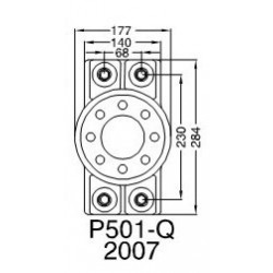 Python-Drive Trycklager PD-Q (P501).