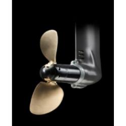 """2-Bladig Foldingpropeller till S-drev 17"""" LH Komposit."""