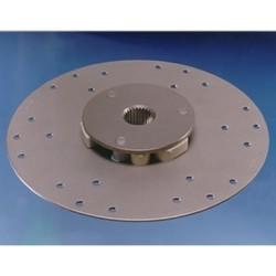 18M25 demperplaat  Ø 284 mm. 540 Nm.