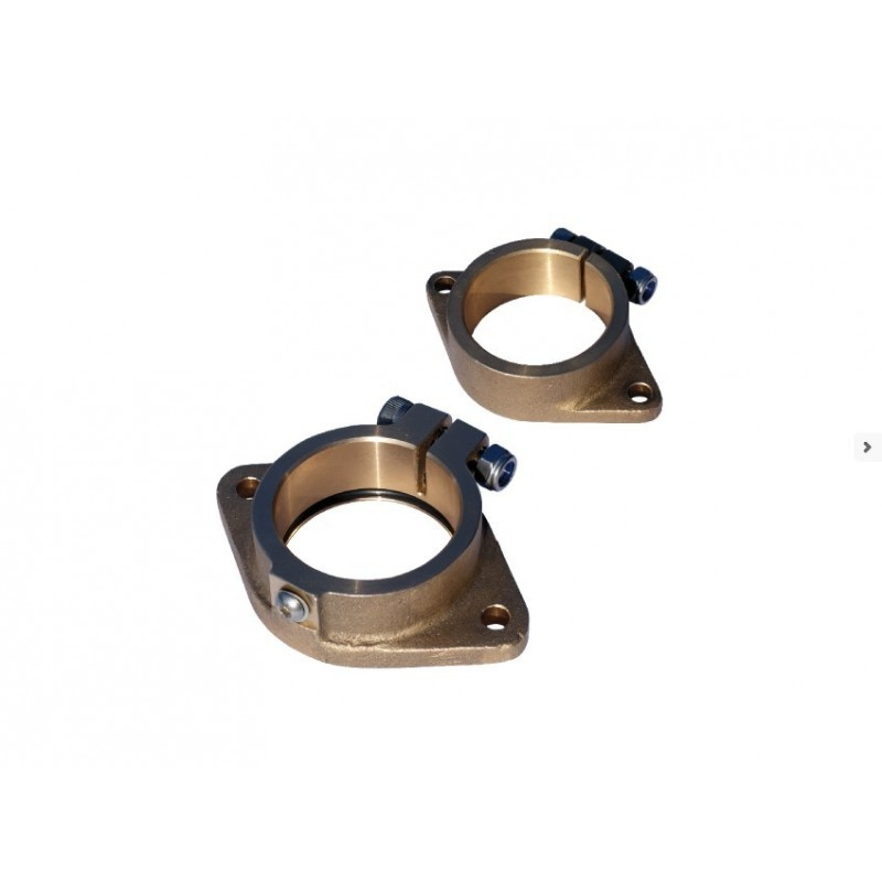 Set inner+outer flanges for inner bearing 25mm