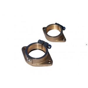 Set inner+outer flanges for inner bearing 35mm
